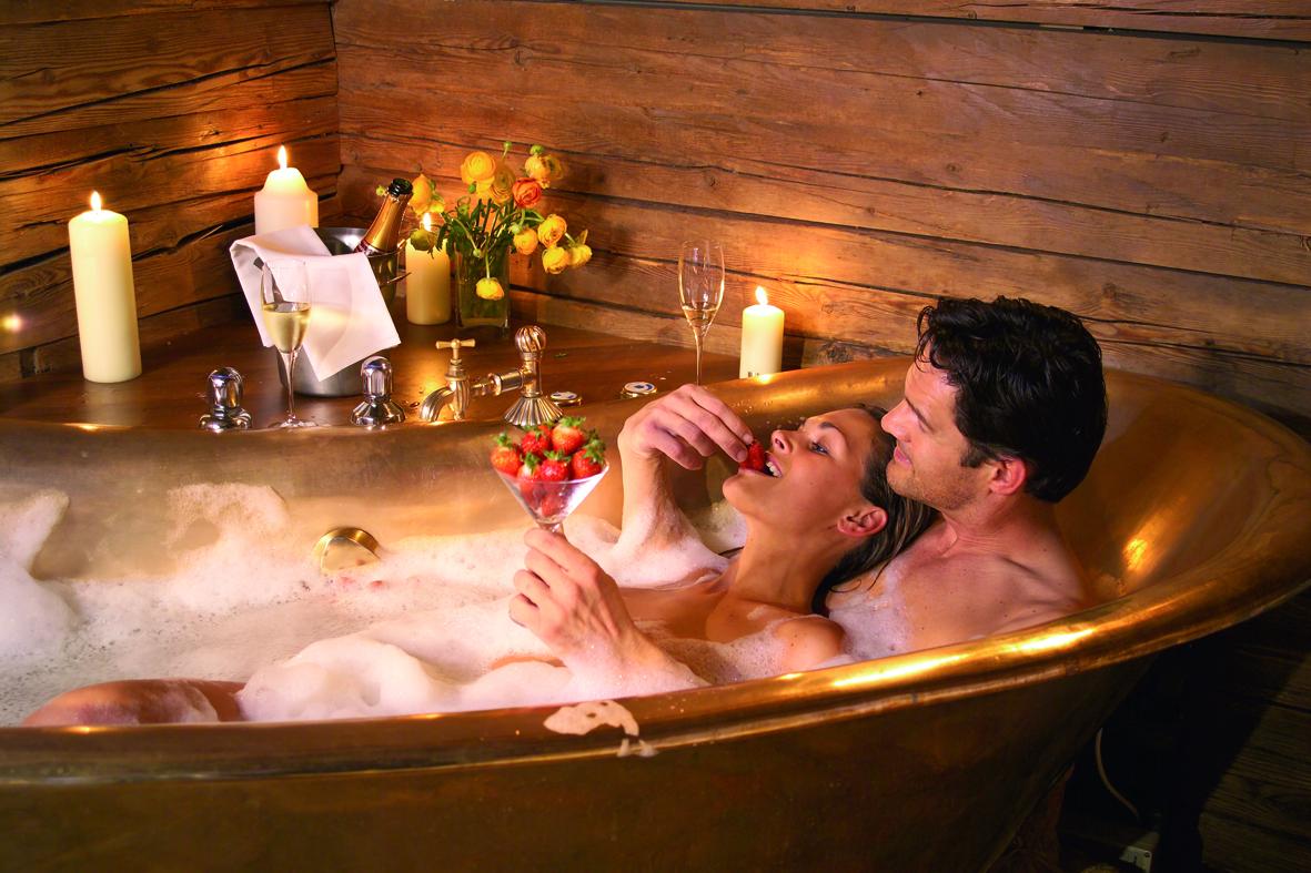 Картинка романтика девушка в ванной